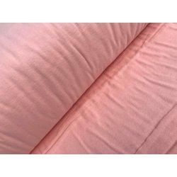 Фланелевое постельное белье однотонное персиковое Yavruagzi
