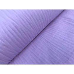 Фланелевое постельное белье однотонное сиреневое Ortanca