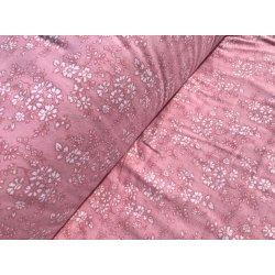 Фланелевое постельное белье Маргаритка розовая