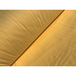 Фланелевое постельное белье однотонное жёлтое Sari