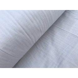 Фланелевое постельное белье однотонное Белое