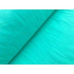 Фланелевое постельное белье однотонное Мятное