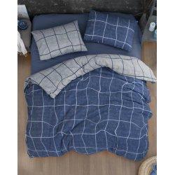 Фланелевое постельное белье First Choice Adonis Denim евро