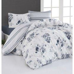 Фланелевое постельное белье First Choice Jaden Mavi евро