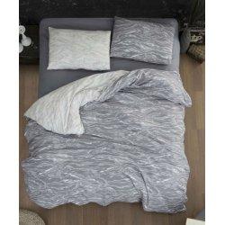 Фланелевое постельное белье First Choice Larnell Grey евро
