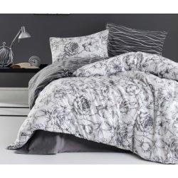 Фланелевое постельное белье First Choice Rozen Gri евро