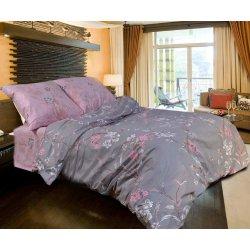 Фланелевое постельное белье Лилия