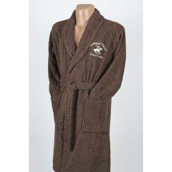 Халат махровый Beverly Hills Polo Club 355BHP1703 brown коричневый