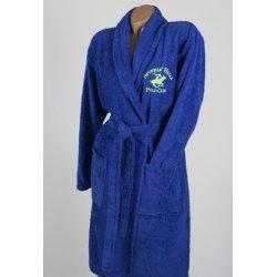 Халат махровый Beverly Hills Polo Club 355BHP1705 dark blue синий