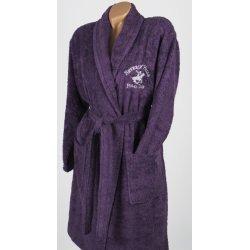 Халат махровый Beverly Hills Polo Club 355BHP1710 purple сиреневый