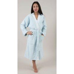 Женский махровый халат Deco Bianca 52001 V4 аква S/M