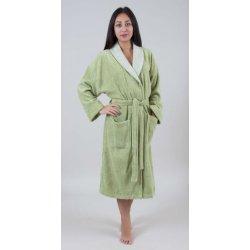 Женский махровый халат Deco Bianca 52009 V1 fistik фисташковый S/M