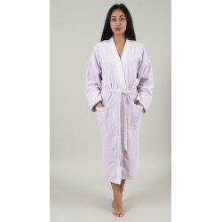 Женский махровый халат Deco Bianca 52001 V6 lila лиловый S/M