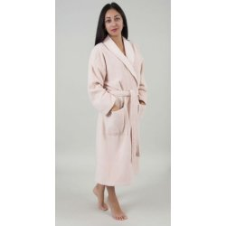 Женский махровый халат Deco Bianca 52007 V3 пудра S/M