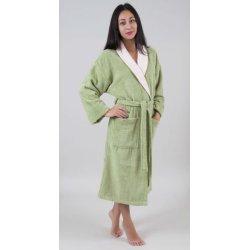 Женский махровый халат Deco Bianca 52007 V1 yesil зеленый S/M