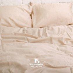 Постельное белье Хлопковые традиции сатин SE012 персиковое однотонное