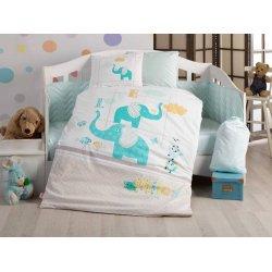 Детское постельное белье Hobby Pretty бирюзовый