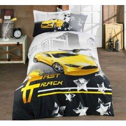 Подростковое постельное белье Hobby Fast Track жёлтый
