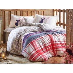 Фланелевое постельное бельё Valentina серое