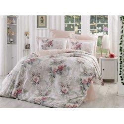 Фланелевое постельное белье Hobby Clementina светло-розовое
