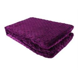 Покрывало-плед 150*220 Tomurcuk фиолетовый