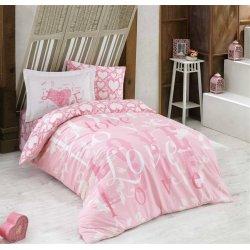 Детское постельное белье Hobby Love розовый