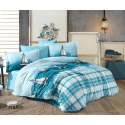 Детское постельное белье Hobby Maritim голубой