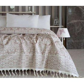 Покрывало на кровать Irya 240*250 Lindy beige