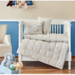 Набор в кроватку для новорожденных Karaca Home Cloudy 2018-2 bej