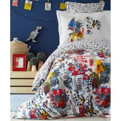Подростковое постельное белье Karaca Home Beris kirmizi