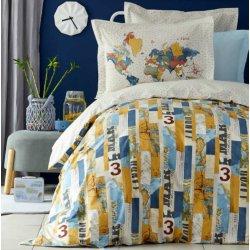 Подростковое постельное белье Karaca Home Farte mavi