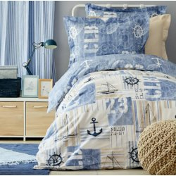 Подростковое постельное белье Sandes indigo