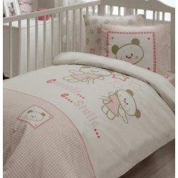 Детский набор в кроватку Karaca Home Stella розовое