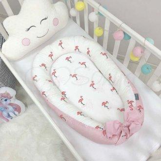 Кокон Baby Design Premium Фламинго