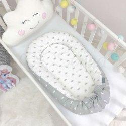 Кокон Маленькая соня Baby Design Premium Короны