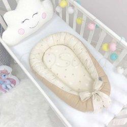 Кокон Маленькая Соня Baby Design Звезды на шоколадном