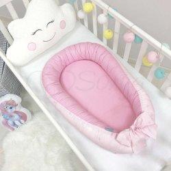 Кокон Маленькая Соня Baby Design Звезды на розовом
