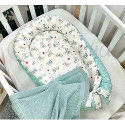 Кокон Маленькая Соня Baby Design Baby разноцветный