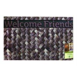 Коврик придверный 45*75 Mozaik Welcome Friends