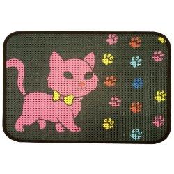 Коврик для котов IzziHome Catsline Renkli Patiler 40x60