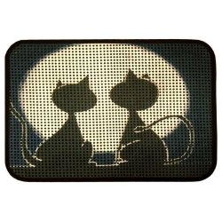Коврик для котов IzziHome Catsline Romantik Kediler 40x60