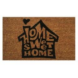 Коврик для ног 35*60 Koko Home Sweet Siyah Ev