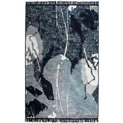 Коврик для ног универсальный ALBENI 80*150 Siyah Beyaz ALB2 двухсторонний