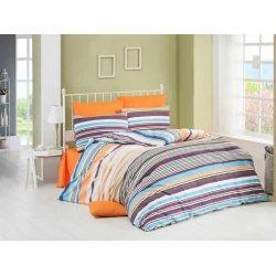 Комплект постельного белья Lines оранжевый
