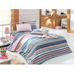 Комплект постельного белья Lines розовый