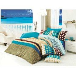 Комплект постельного белья Puanline голубой