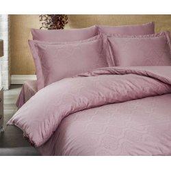 Постельное бельё Exclusive Sateen Jacquard розовое