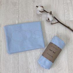Пеленка для новорожденного Msonya фланель Голубая