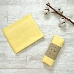 Пеленка для новорожденного Msonya фланель Жёлтая