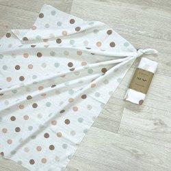 Пеленка для новорожденного Msonya муслин Акварельное конфети